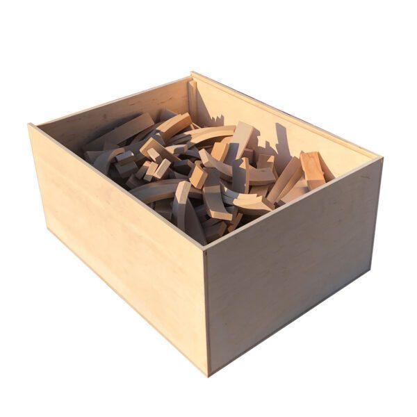 Abel Blocks - houten blokken set 250 Jindl