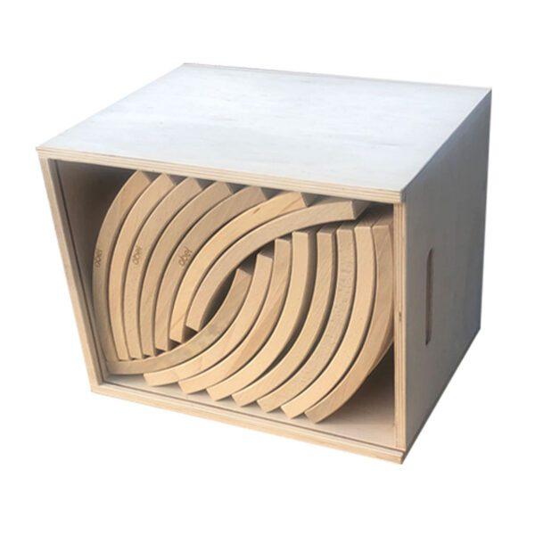Abel blocks - houten blokken set 75 Jindl