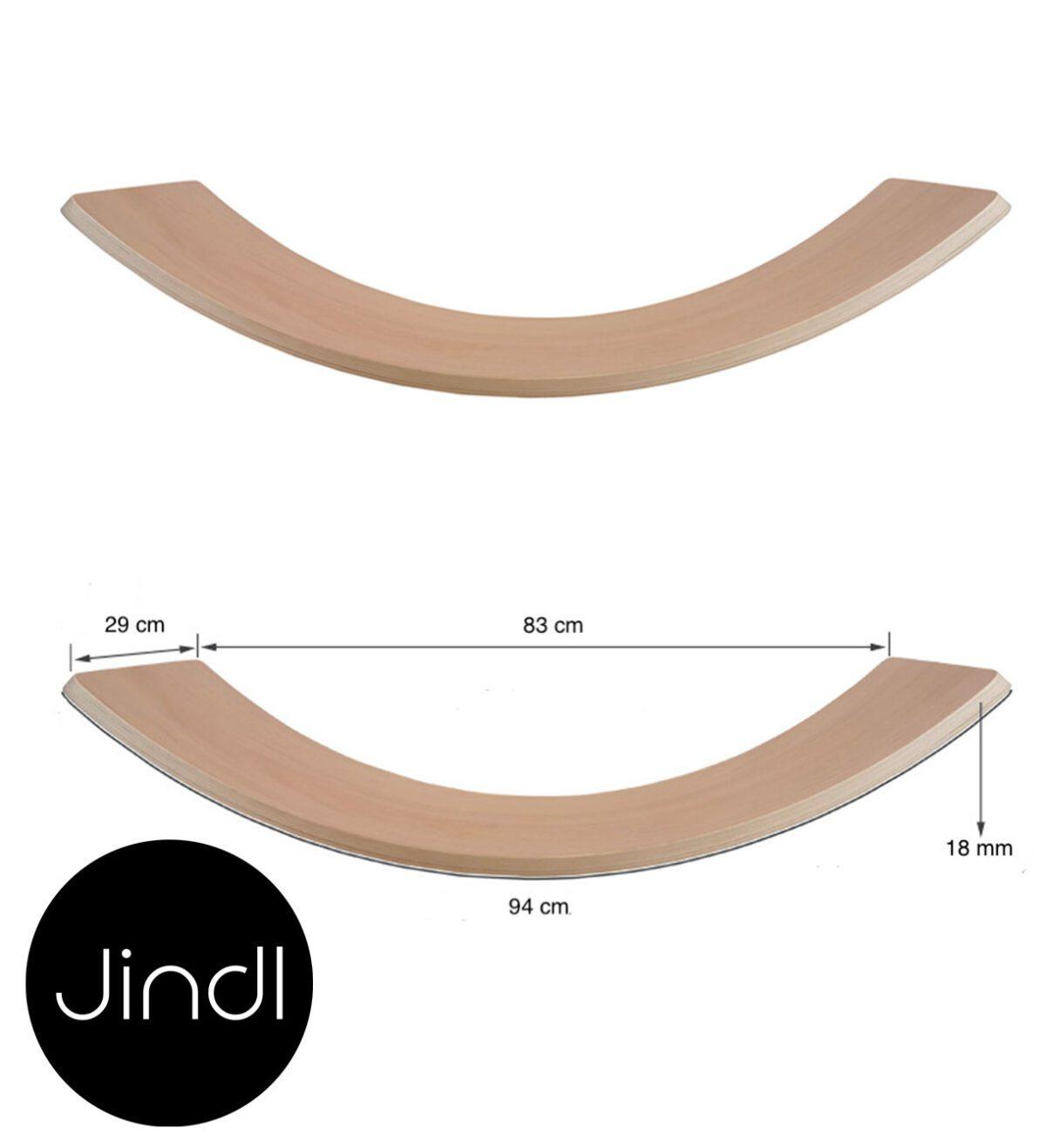 Balance board afmetingen Jindl