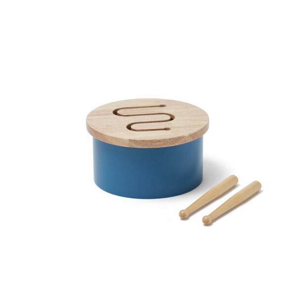 Houten trommel Kid's Concept blauw