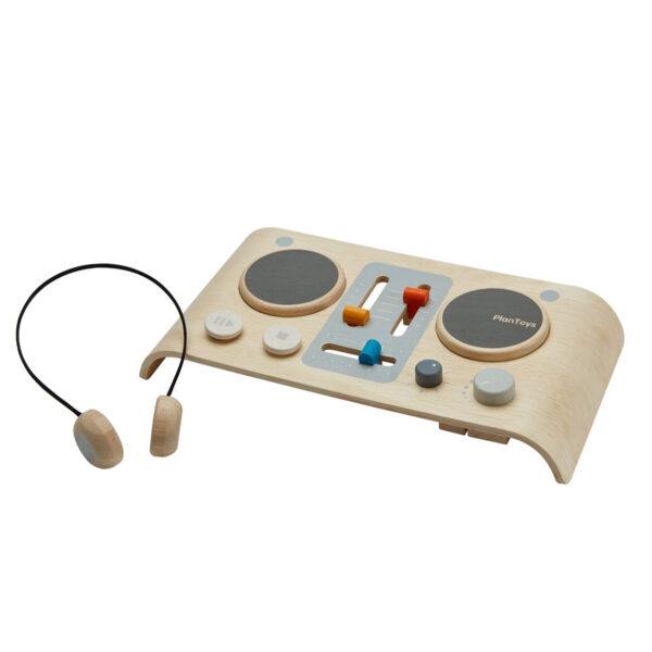 Speelgoed DJ-set hout van PlanToys overzicht