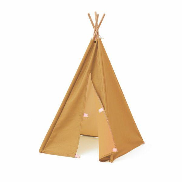Tipi Tent Kid's Concept mini okergeel detail