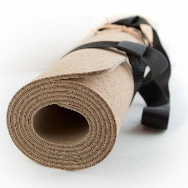 Yoga mat kurk Jindl opgerold