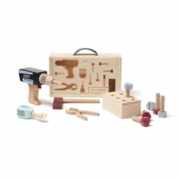 Houten gereedschapskist Kid's Concept HUB