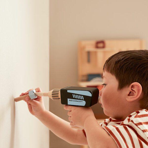 Houten gereedschapskist Kid's Concept HUB sfeer